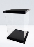 Display Case for 1/6 Action Figures Black Magnetic Edition