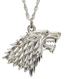 Prívesok Game of Thrones -  Pendant & Necklace Stark Sigil (Sterling Silver)