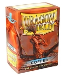 Obal Dragon Shield 100ks – copper/meď