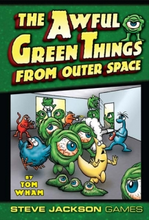 Awful Green Things From Outer Space EN - spoločenská hra