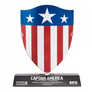 Marvel's Captain America Replica 1/6 Captain America's 1940's Shield 10 cm