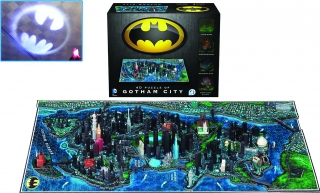 Puzzle Batman 4D Large Puzzle Gotham City