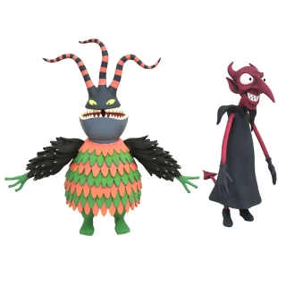 Nightmare before Christmas Select Action Figures 18 cm S6 - Harlequin & Devil