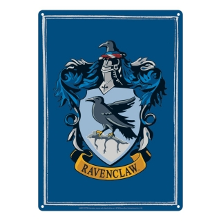 Harry Potter Tin Sign Ravenclaw 21 x 15 cm
