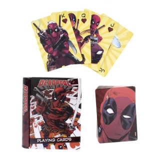 Deadpool Playing Cards Deadpool Designs - hracie karty