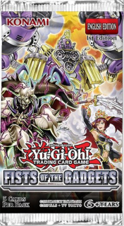 Yu-gi-oh TCG: Fists of the Gadgets - Booster Pack