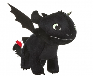 How to Train Dragon Plush Toothless 60 cm GITD