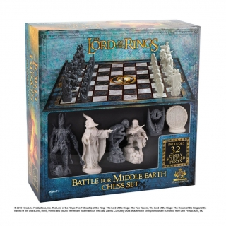 Šachy - Lord of the Rings Chess Set Battle for Middle Earth
