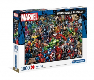 Puzzle - Marvel 80th Anniversary Impossible Puzzle Characters