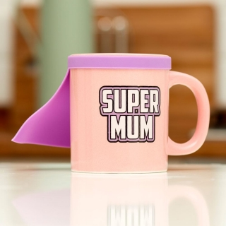 Šálka Super Mum Mug with cape