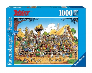 Puzzle - Asterix Jigsaw Puzzle Family Photo