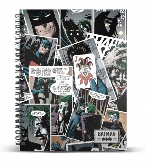 Zápisník DC Comics Notebook A4 Joker Comic