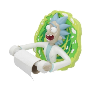 Rick and Morty Toilet Roll Holder Rick