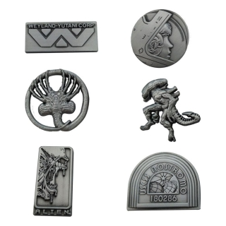 Odznak Alien Pin Badge 6-Pack Limited Edition