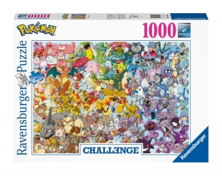 Puzzle - Pokémon Challenge Jigsaw Puzzle Group (1000 pieces)