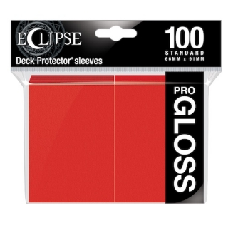 Obal UltraPRO STANDARD 100ks PRO GLOSS Eclipse APPLE RED