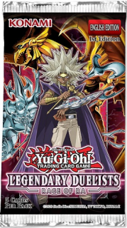 Yu-gi-oh TCG: Legendary Duelist RAGE OF RA Booster Pack