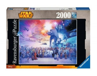 Puzzle - Star Wars Jigsaw Puzzle Star Wars Universe (2000 pieces)
