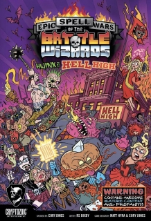 Epic Spell Wars of the Battle Wizards V: Hijinx at Hell High