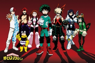 Plagát My Hero Academia Poster - Line Up 61 x 91 cm