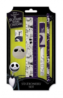 Písacia sada - Nightmare Before Christmas 5-Piece Stationery Set
