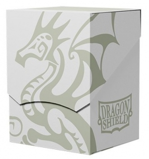 Krabička Dragon Shield - Deck Shell - White/Black