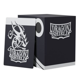 Krabička Dragon Shield - Double Shell - Black/Black