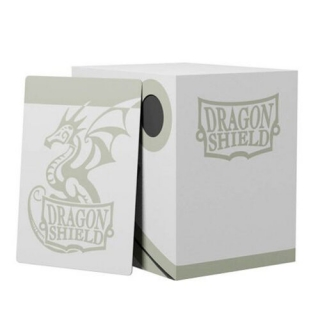 Krabička Dragon Shield - Double Shell - White/Black