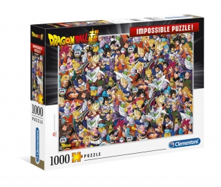 Puzzle - Dragon Ball Super Impossible Puzzle Characters