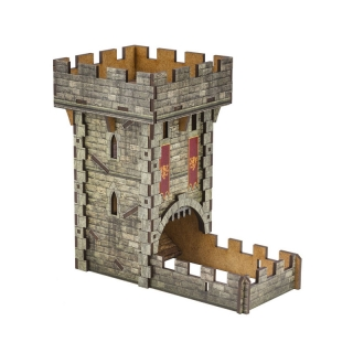 Dice Tower - Medieval Color Dice Tower