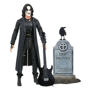 The Crow Deluxe Action Figure Eric Draven 18 cm