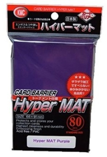 Obal KMC HYPER Mat Series 80ks - Purple