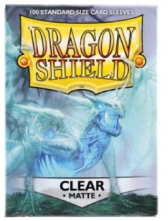 Obal Dragon Shield 100ks MATTE – clear