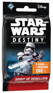 Star Wars Destiny EN - Spirit of Rebellion Booster Pack